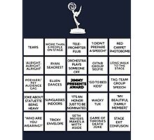 Emmy Awards Show Bingo Photographic Print