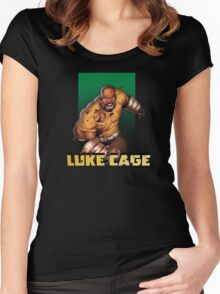 Luke Cage Women's Fitted Scoop T-Shirt