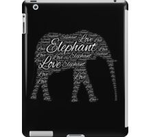 Love Elephant iPad Case/Skin