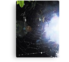 Surf the Web for Halloween Canvas Print
