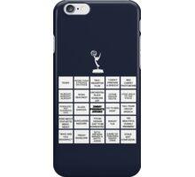 Emmy Awards Show Bingo iPhone Case/Skin