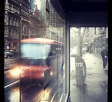 Melbourne Rain by Karl Tattersall