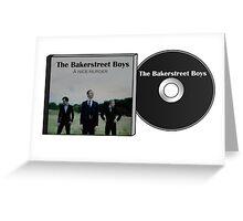 Sherlock Holmes - The Bakerstreet Boys Greeting Card