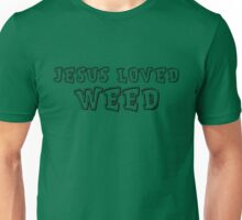 Jesus Hippie Smoke Weed Cool Drugs Gift T-Shirts Unisex T-Shirt