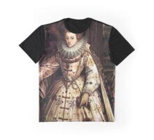 Elizabeth I Fan Portrait Graphic T-Shirt
