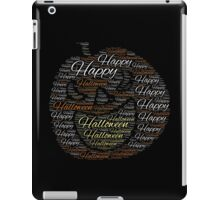 Happy Halloween 2016 iPad Case/Skin