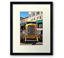 Yellow Fever Framed Print