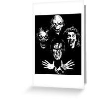 Evil Dead Rhapsody Greeting Card
