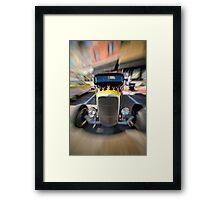 Fast Flames 2 Framed Print