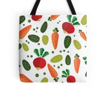 Healthy Colorful Vegetables Pattern Tote Bag
