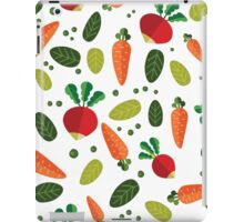 Healthy Colorful Vegetables Pattern iPad Case/Skin