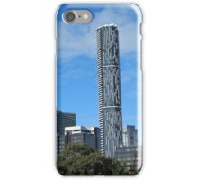 ('THE BARCODE TOWER') The Peoples name, City of Brisbane. Qld., iPhone Case/Skin