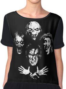 Evil Dead Rhapsody Chiffon Top