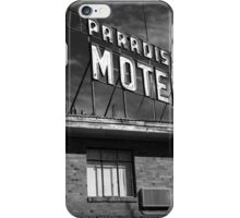 Route 66 - Paradise Motel iPhone Case/Skin
