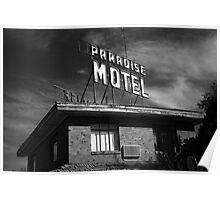 Route 66 - Paradise Motel Poster