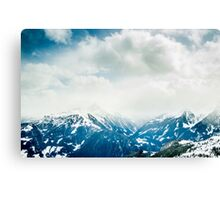Mountain Tops Canvas Print