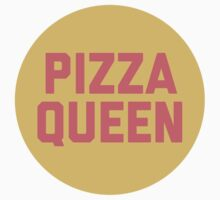 Pizza Queen Funny Quote (Graphic) One Piece - Short Sleeve