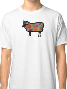 Psychedelic Black Sheep Classic T-Shirt