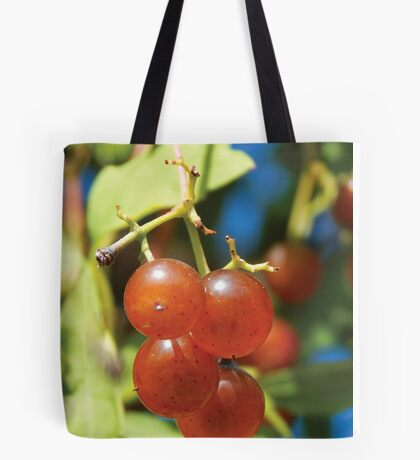 Red Berries Of Autumn Tote Bag