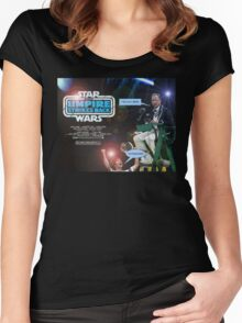 Star Wars - The Umpire Strikes Back Women's Fitted Scoop T-Shirt