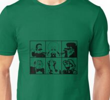 Mustachio Men - toon version Unisex T-Shirt