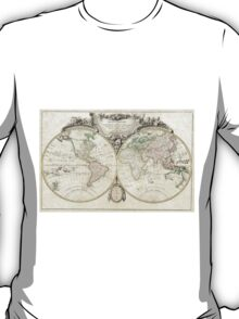 Vintage Map of The World (1775) T-Shirt