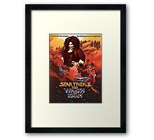 Star Trek - Wrath of (Chaka) Khan Framed Print