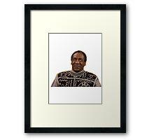 bill cosby Framed Print