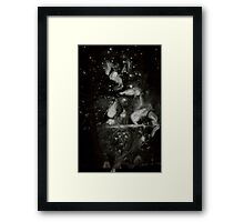 0109 - Brush and Ink - Between Kot and Cot Framed Print