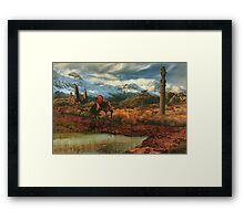 Uncertain Reflection Framed Print