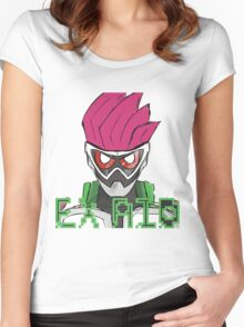 Ex Aid Women's Fitted Scoop T-Shirt