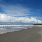 The Long White Cloud! Sharpes Beach, Ballina, N.S.W. Nth. Coast. by Rita Blom
