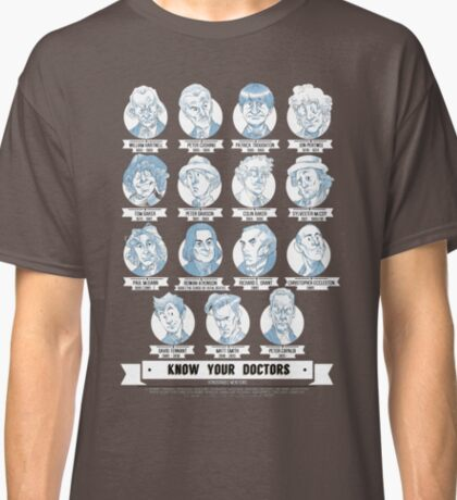 Know Your Doctors Classic T-Shirt
