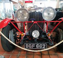 Lagonda M45 - British Luxury vintage car by santoshputhran