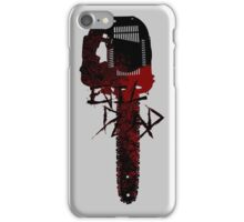 ash chainsaw atack iPhone Case/Skin