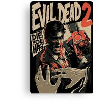 Ash Vs Evil Dead 2 Canvas Print