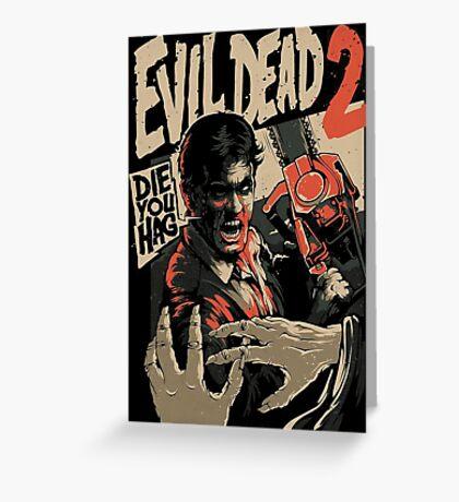 Ash Vs Evil Dead 2 Greeting Card