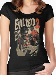 Ash Vs Evil Dead 2 Women's Fitted Scoop T-Shirt