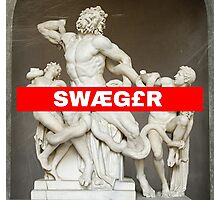 greek Swaeger Photographic Print