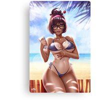 Beach Queen: Gentle Canvas Print