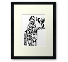 Sketch book Framed Print