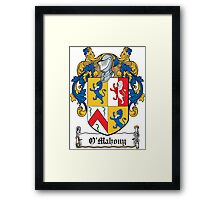 O'Mahony Coat of Arms (Cork) Framed Print