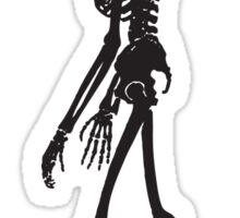 Human skeleton (zoom) Sticker