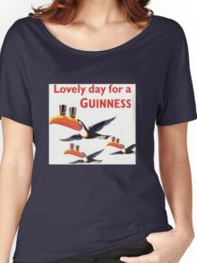 Vintage Guinness Beer Ad 4 Women's Relaxed Fit T-Shirt
