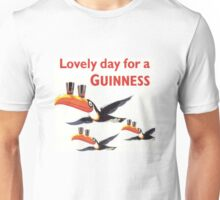 Vintage Guinness Beer Ad 4 Unisex T-Shirt