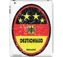 World Cup Football 3/8 - Deutschland (Distressed) iPad Case/Skin