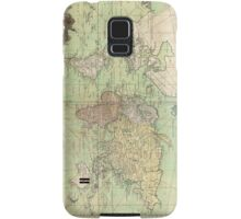 Vintage Map of The World (1778) Samsung Galaxy Case/Skin