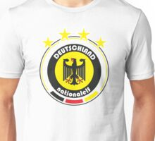 World Cup Football 3/8 - Team Deutschland Unisex T-Shirt