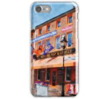 Sliders Bar and Grille, Baltimore, Md.  iPhone Case/Skin