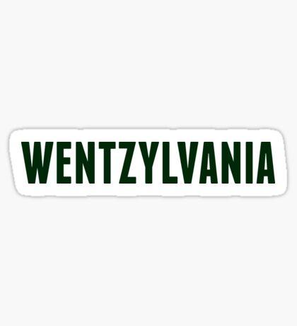 Wentzylvania Sticker